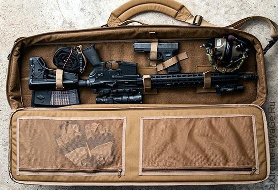 Универсальная сумка-кейс для оружия GGG Rifle Case