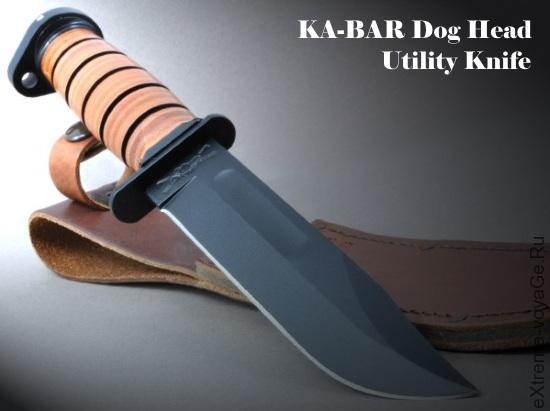 Боевой нож морпеха «для гражданки» KA-BAR Dog Head