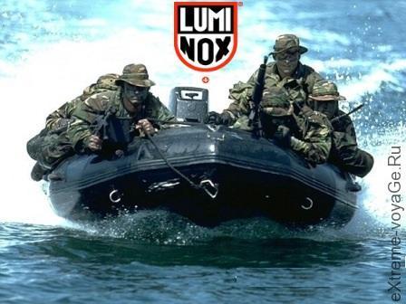 Наручные часы морского спецназа от Luminox