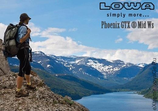 Многозадачные походные ботинки LOWA Phoenix GTX