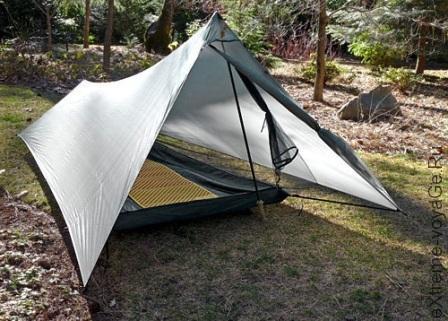 Легкая палатка с быстрой установкой TarpTent ProTrail