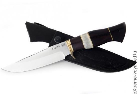 Нож для охоты и походов Беркут-1 из стали HRC 61-63