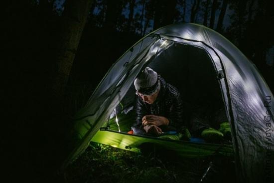 Альпинистские палатки со светодиодным освещением Big Agnes mtnGLO