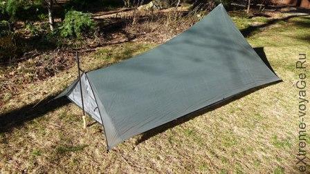 Легкая одноместная палатка TarpTent ProTrail
