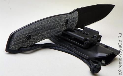 Боевой нож Attleboro с ножнами