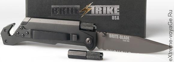 Brite Strike Blade Tactical Lighted Survival Knife