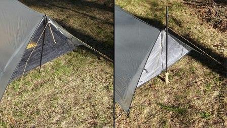 Палатка для штормовой погоды TarpTent ProTrail