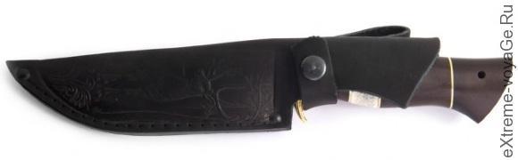 Охотничий нож с литьем Арком Беркут-1 в ножнах