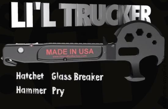 Топор-мультитул для выживания в Апокалипсисе Lil Trucker
