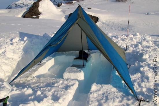 Универсальный 4-местный тент Mega Light Tent