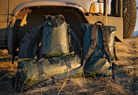 Новые гермосумки и гермомешки Filson Dry Bags Green