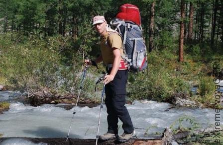 Каркасный горный рюкзак Юкон 115-2 от NovaTour