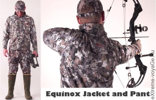 Легкий полевой 2-сезонный костюм Sitka Equinox