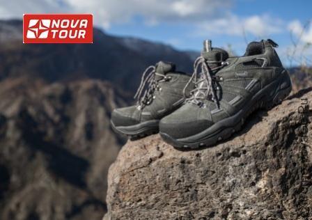 Трекинговые кроссовки Койот от бренда Nova Tour