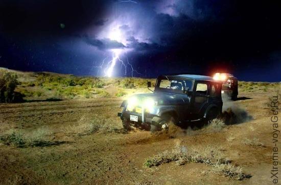 Опасность и расстояние до молнии во время грозы