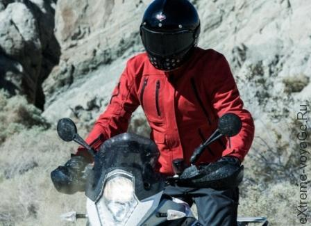 Мотокуртка Expedition Motorcycle Jacket в красном цвете