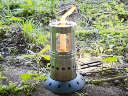 Dual Biomass Lantern/Cookstove