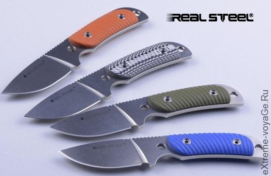 Малый китайский нож для охоты Real Steel Hunter 165