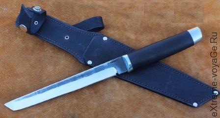 Нож АТАКА Танто с клинком длиной 21-22 см