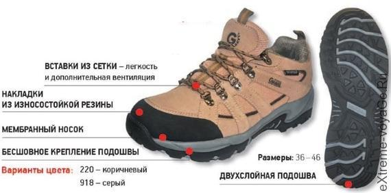 hiking shoes coyote Nova Tour