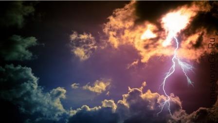 фото гроза молния
