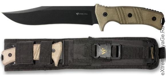 Steel Will Knives Chieftain 1610