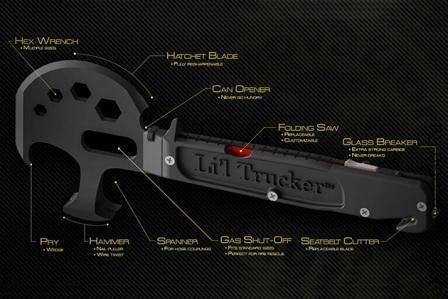Все инструменты топора Lil Trucker