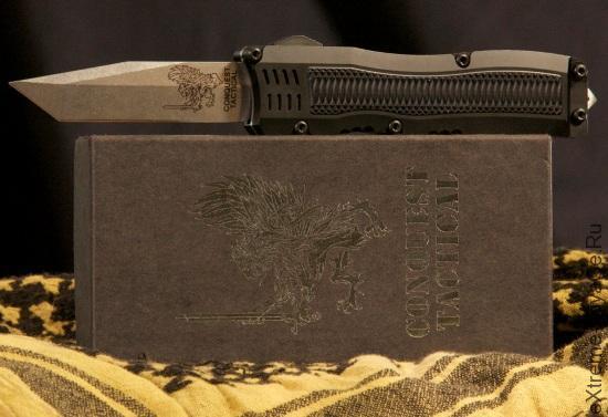 Тактический выкидной нож танто Conquest Tactical Fury
