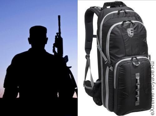 Оружейный рюкзак спецназа для тайных операций Stealth