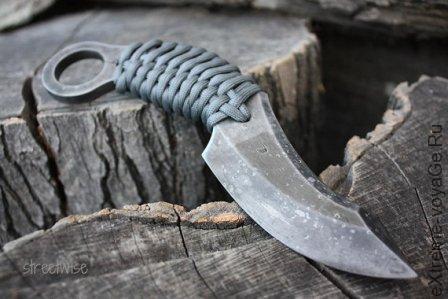 Боевой нож для защиты и выживания FOF Streetwise