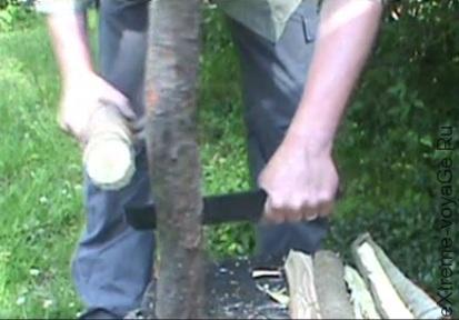 Мощный бивуачный нож Forager Camp Knife