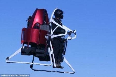 Представлен первый в мире авиа ранец Martin JetPack
