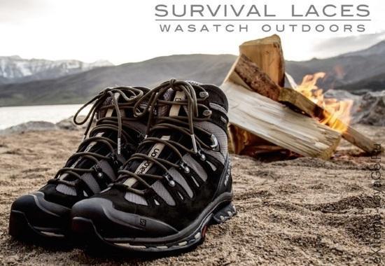 Набор для выживания в шнурках Survival Laces (видео)