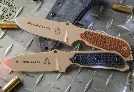 Тактический нож спецназа США TOPs Mil-Spie Elite