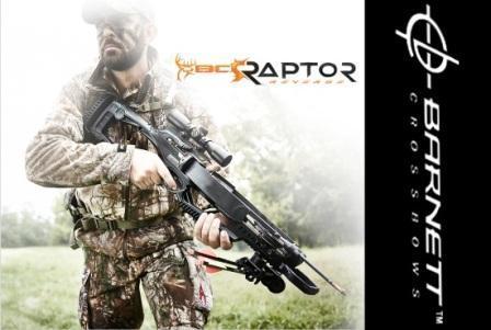 Охотничий арбалет на новый сезон Barnett BCR Raptor