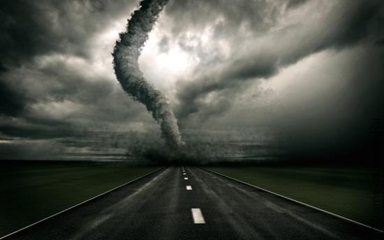 Что делать во время урагана, смерча, бури