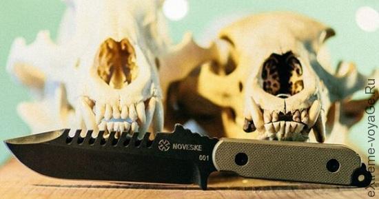 Туристический, полевой, рабочий и охотничий нож Johnny Perfect Knife
