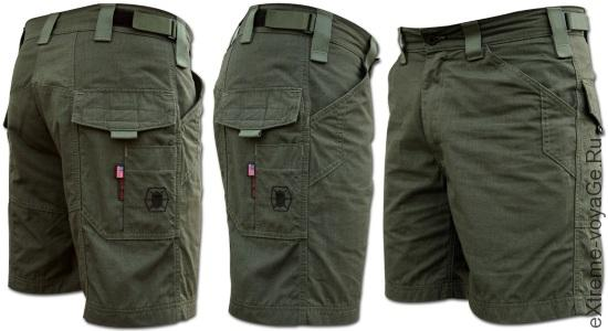 Kitanica представила туристические шорты Cargoid