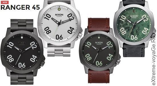 Наручные часы путешественника Nixon Ranger 45