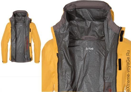 Разворот горной куртки RedFox kara_su II