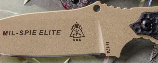 Клинок ножа спецназа Mil-Spie Elite