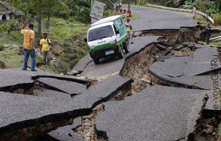 Если вы застали землетрясение в автомобиле