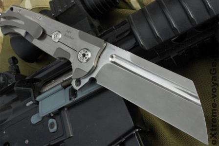 Большие боевые складные ножи от Andre De Villiers