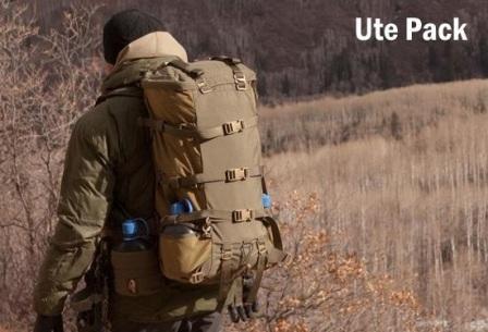 Горный рюкзак с разгрузкой Ute Pack в камуфляже Lupus