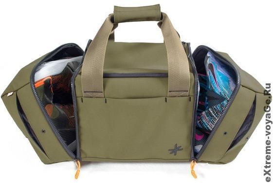 Плечевая сумка для одежды и обуви Shrine Sneaker Duffel