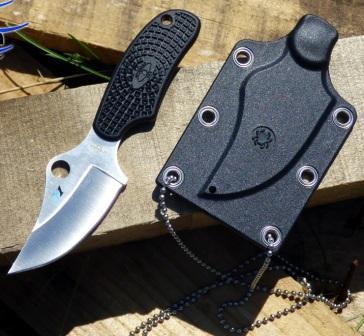 Боевой нож скрытого ношения Spyderco ARK H1