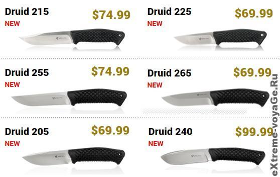 Steel Will Knives Druid Mini Series