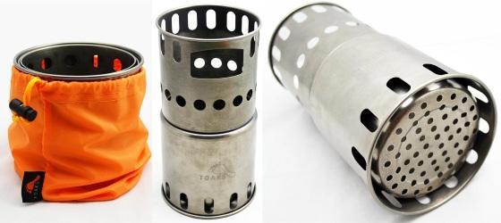 toaks titanium wood stove