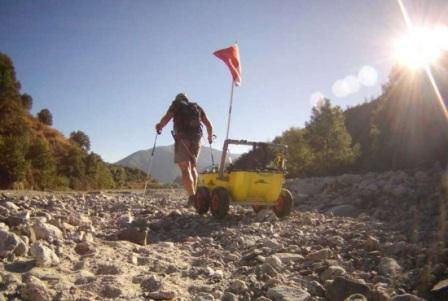 Ручной походный рюкзак-трейлер Armadillo EVS