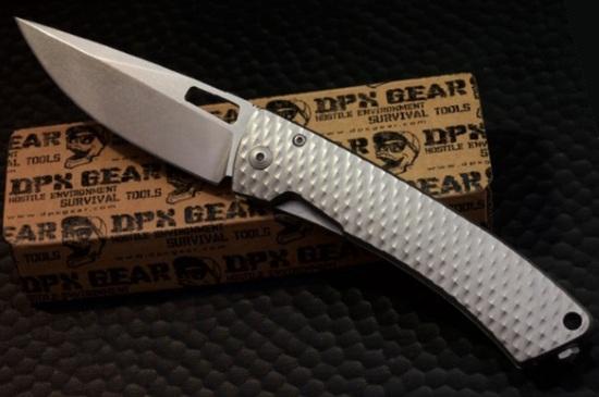 Складной боевой премиум-нож скрытого ношения DPX Aculus